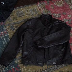 Brunello  Pradesi leather jacket XL EUC